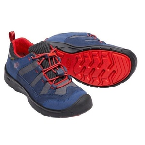 Gyerek cipő Keen Hikeport WP Jr, dress blues / firey red, Keen