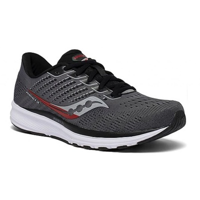 Férfi Saucony Ride 13 Charcoal / Black, Saucony