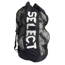 Zsák  labdarúgás balls Select Football bag Select 10-12 golyó fekete, Select